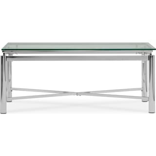 Nova Coffee Table - Silver