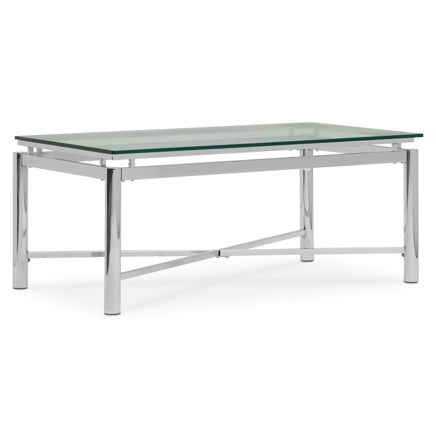 Nova Cocktail Table Silver
