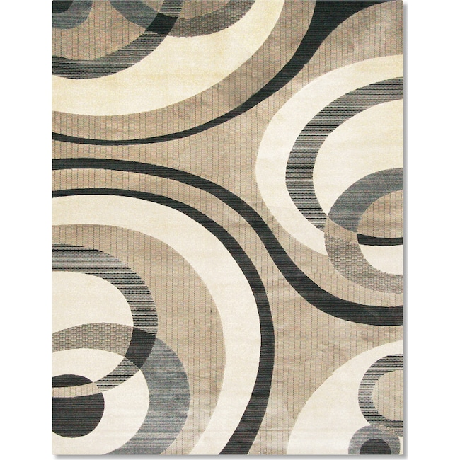 Rugs - Sonoma Bennett 8' x 10' Area Rug - Blue and Beige