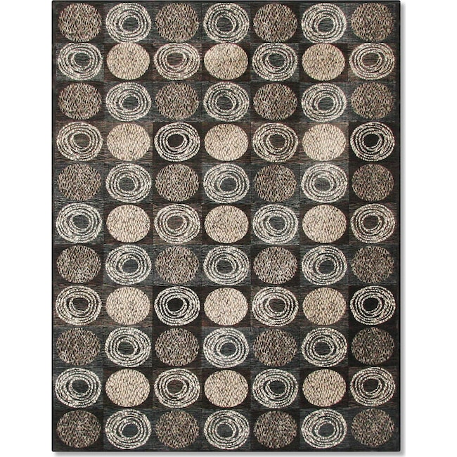 Rugs - Sonoma Laurel 5' x 8' Area Rug - Gray and Ivory