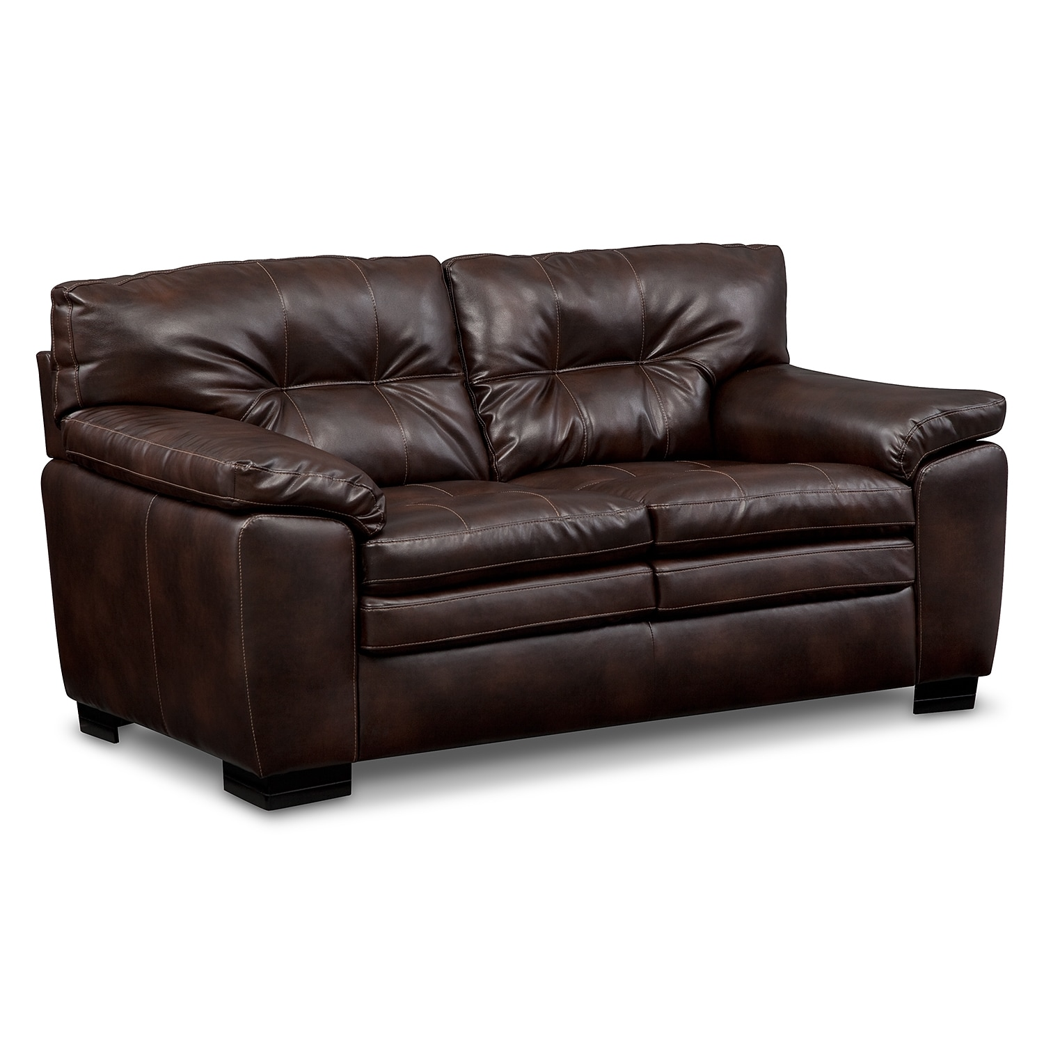 Legend Brown Loveseat
