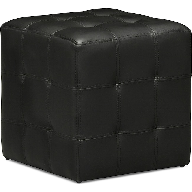 Accent and Occasional Furniture - Dylan Cube Ottoman