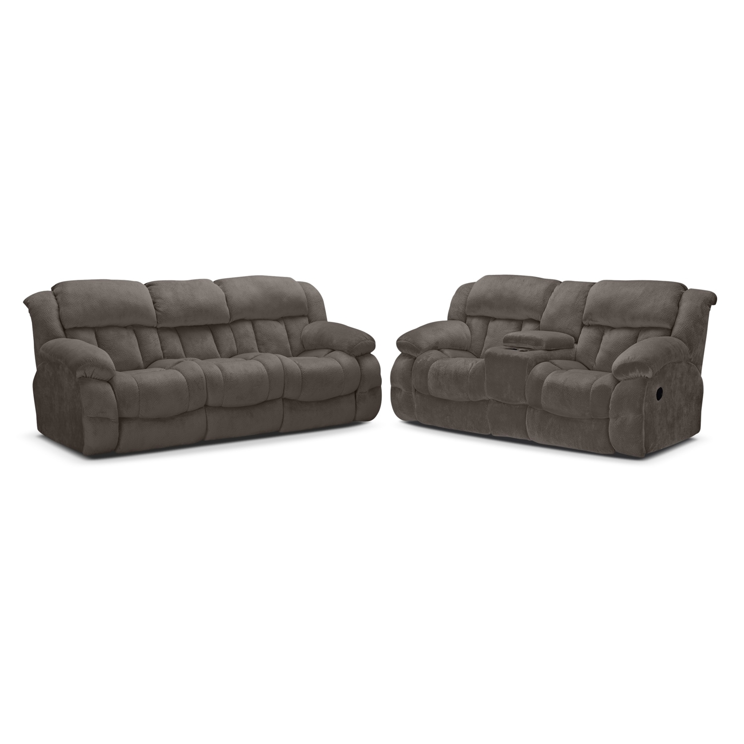 Living Room Furniture - Park City 2 Pc. Reclining Living Room