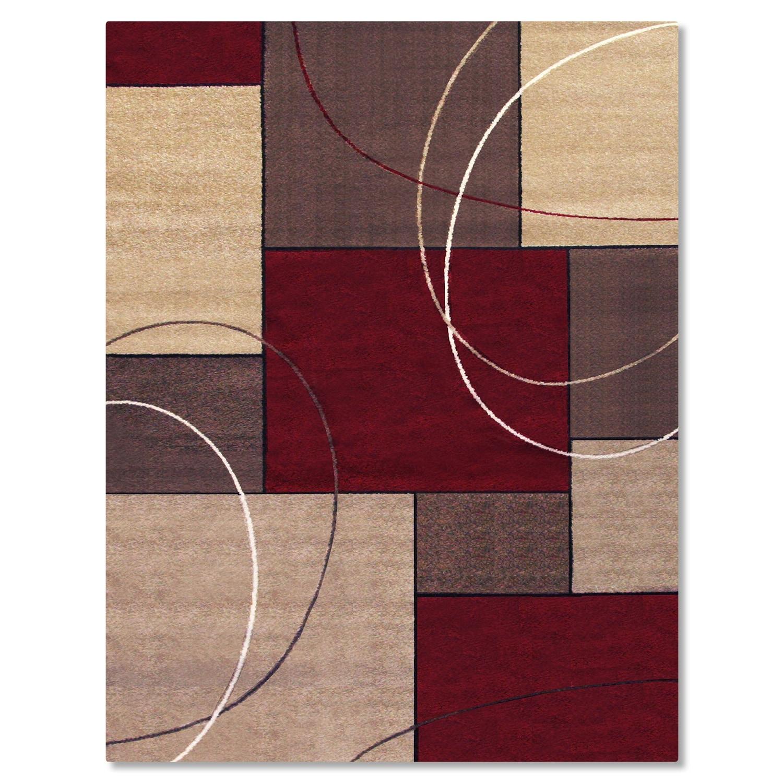 Rugs - Casa Circles & Squares Area Rug (8' x 10')