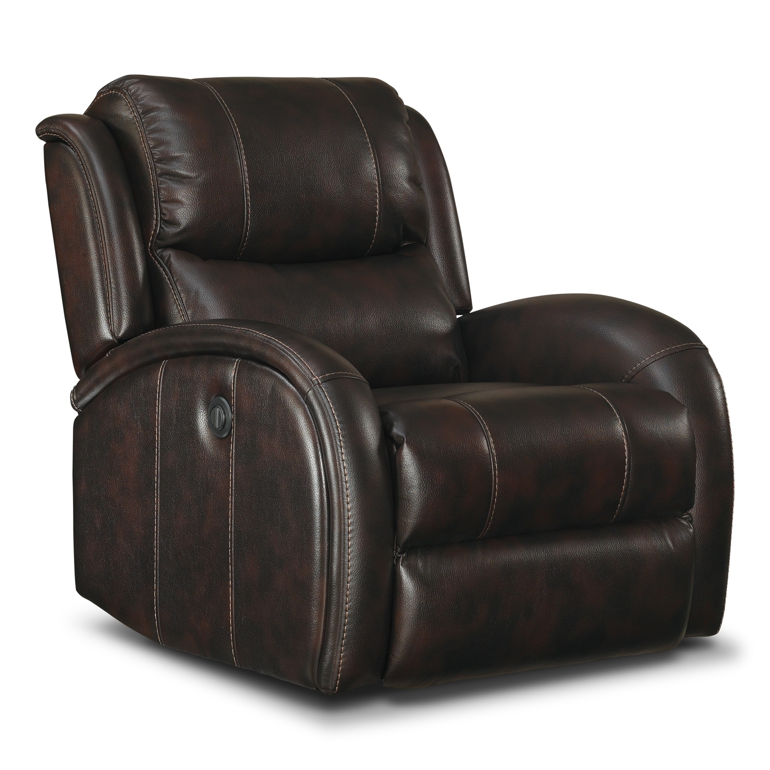 Superbe Corsica Power Recliner   Walnut ...