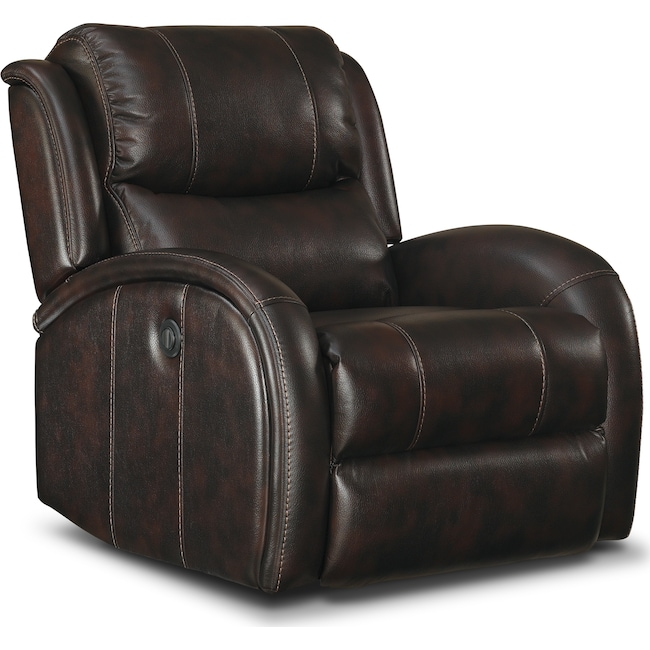 Living Room Furniture - Corsica Dual-Power Recliner