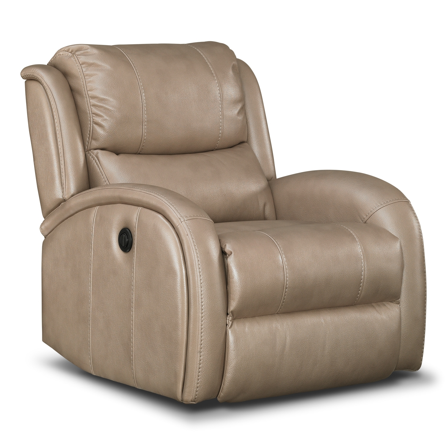 Corsica Power Recliner - Taupe by One80  sc 1 st  Value City Furniture & Corsica Power Recliner - Taupe | Value City Furniture islam-shia.org