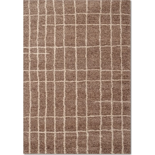 Granada Camille 8' x 10' Area Rug - Brown and Ivory