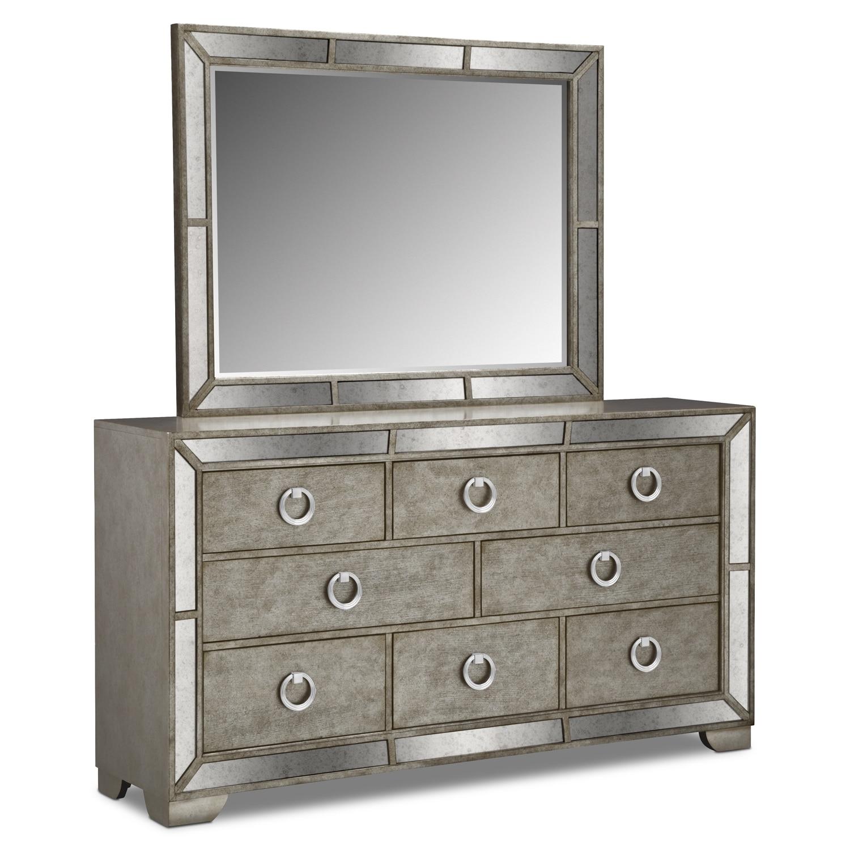 Bedroom Furniture - Angelina Dresser & Mirror