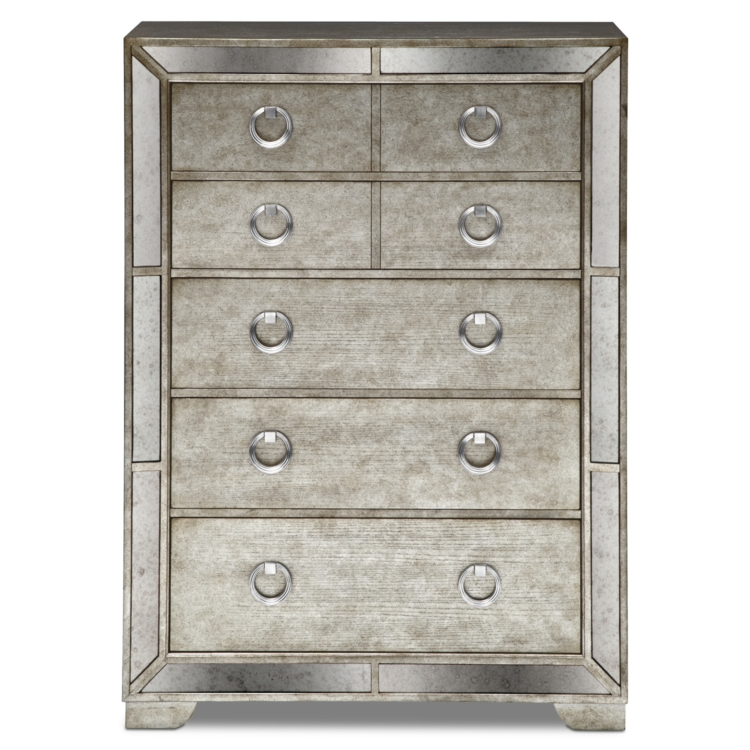 metallic articles dresser grey of with tag luxury
