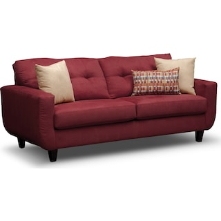 West Village Sofa - Red