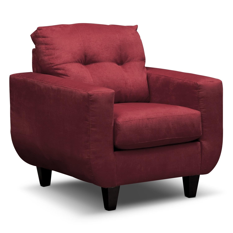 West Village Chair - Red