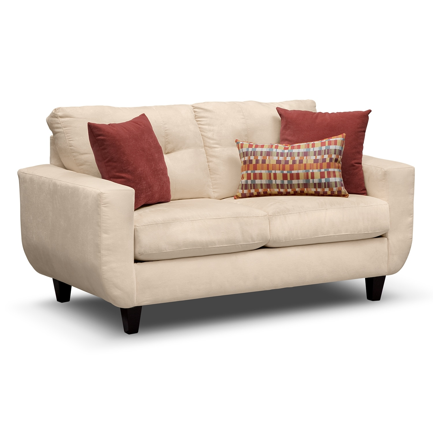 West Village Loveseat - Cream