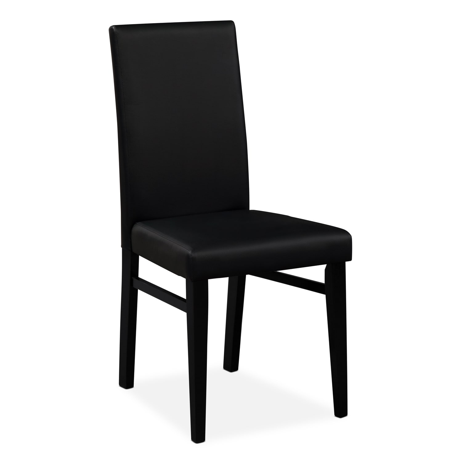 Black Dining Room Table And Chairs: Shadow Table And 4 Chairs - Black