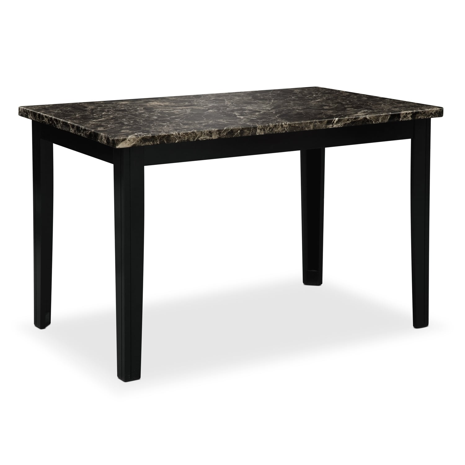 Shadow Dining Table   Black