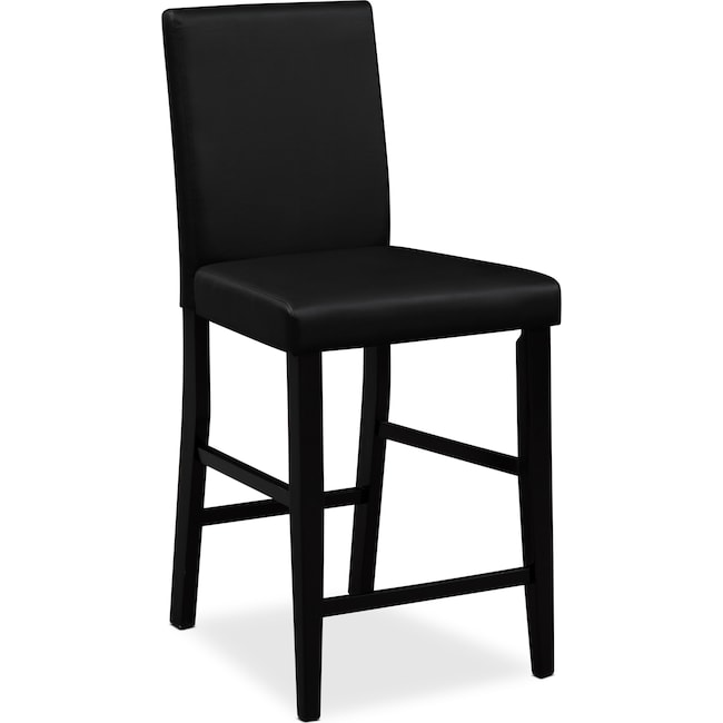 Dining Room Furniture - Shadow Counter-Height Stool - Black