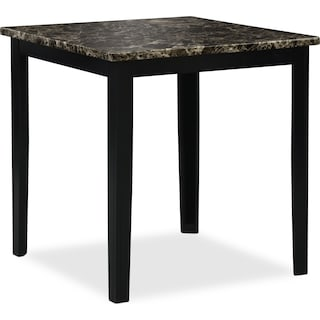 Shadow Counter-Height Dining Table - Black