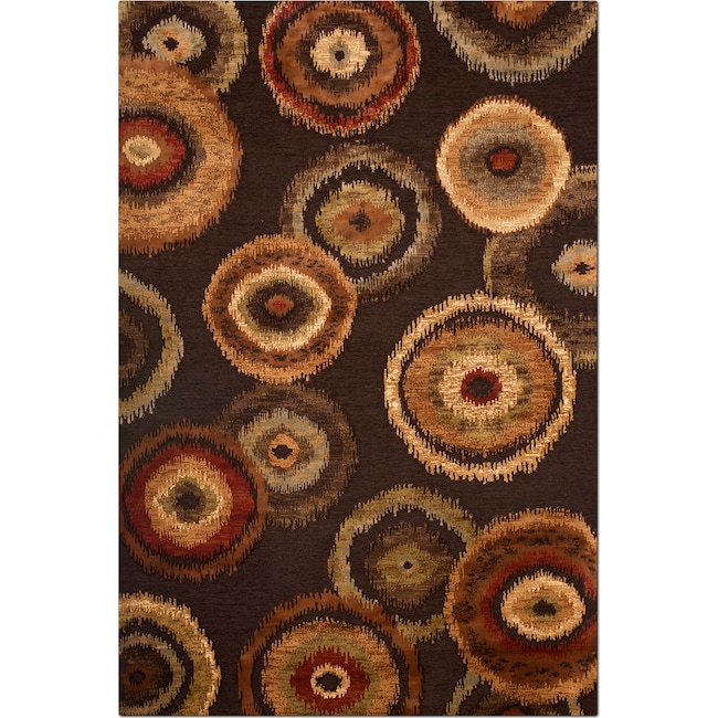 Rugs - Sonoma Adeline 8' x 10' Area Rug - Medium Brown and Beige