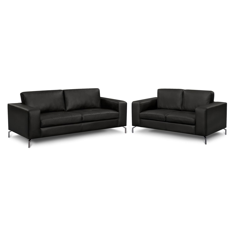Living Room Furniture - Casino II 2 Pc. Living Room