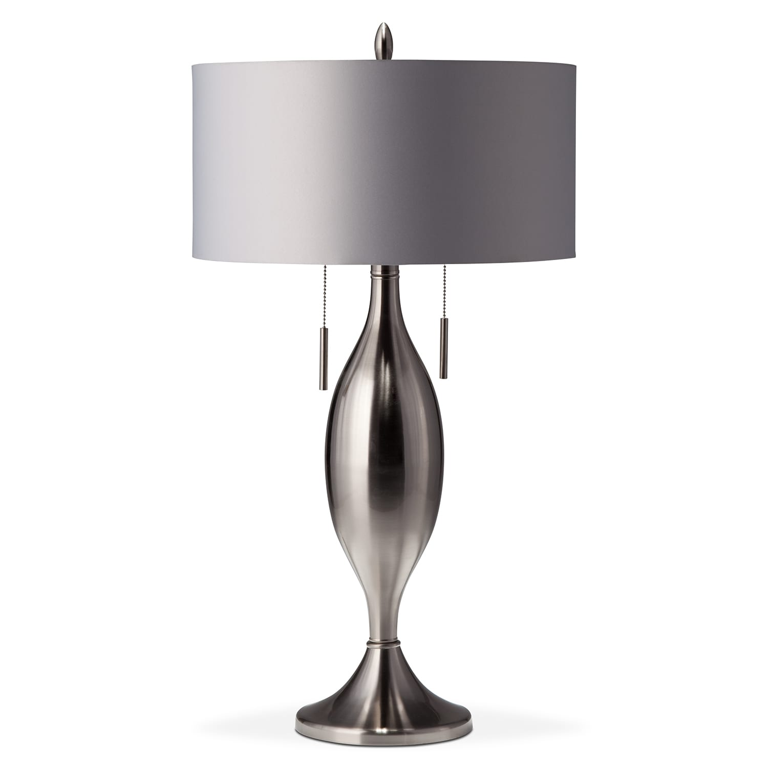 silver tassel table lamp value city furniture