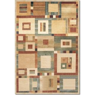 Sonoma Ardyce 5' x 8' Area Rug - Rust and Beige