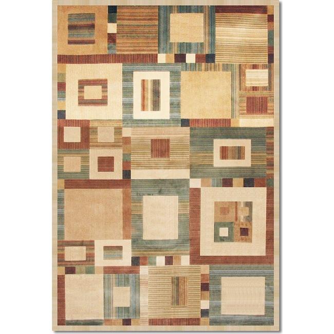 Rugs - Sonoma Ardyce 5' x 8' Area Rug - Rust and Beige