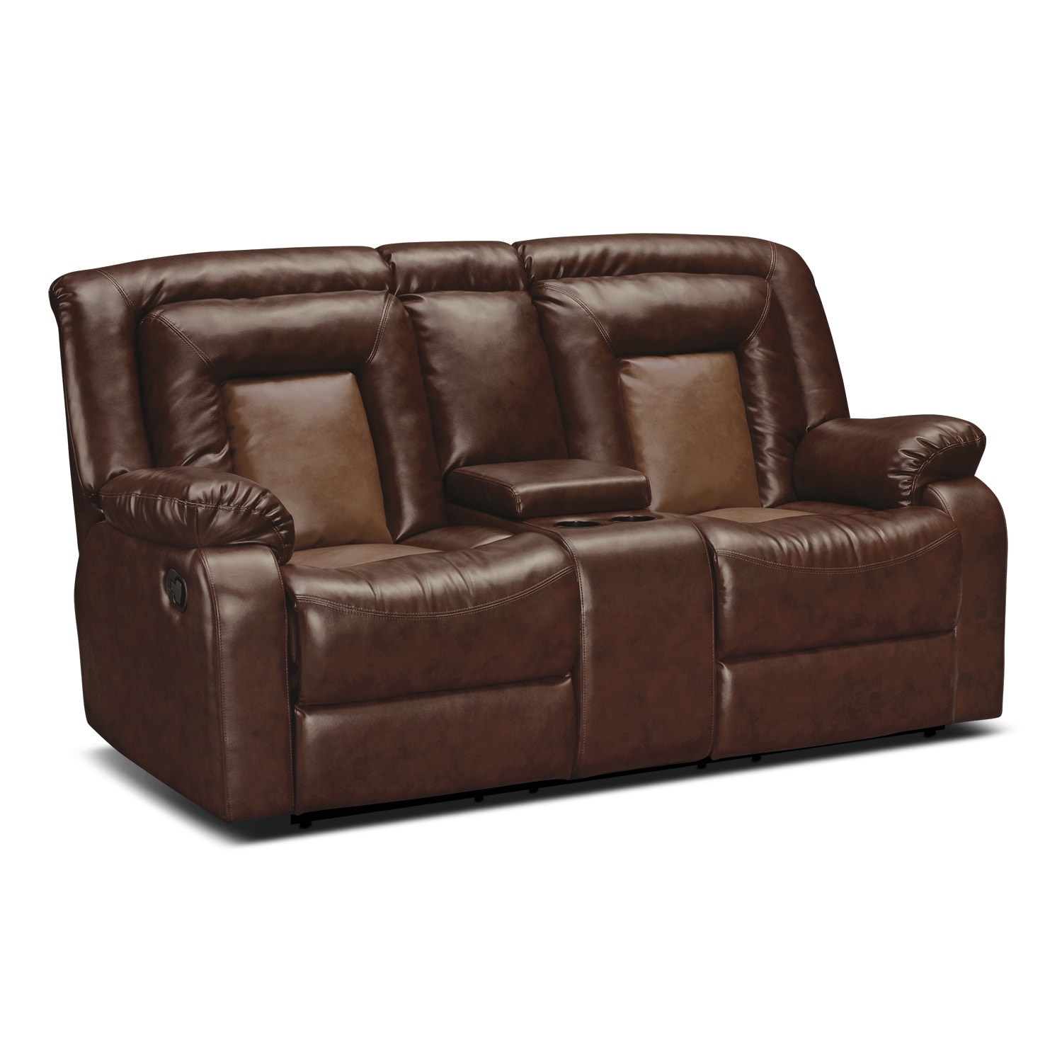 Living Room Furniture - Cobra Dual Reclining Loveseat