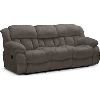 Park City Dual Reclining Sofa - Gray