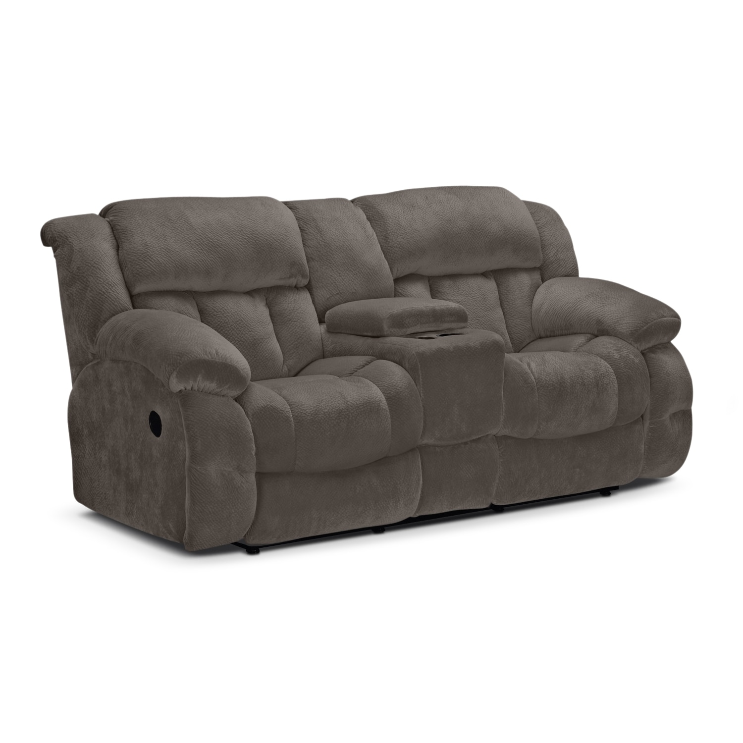 Park City Dual Reclining Loveseat - Gray