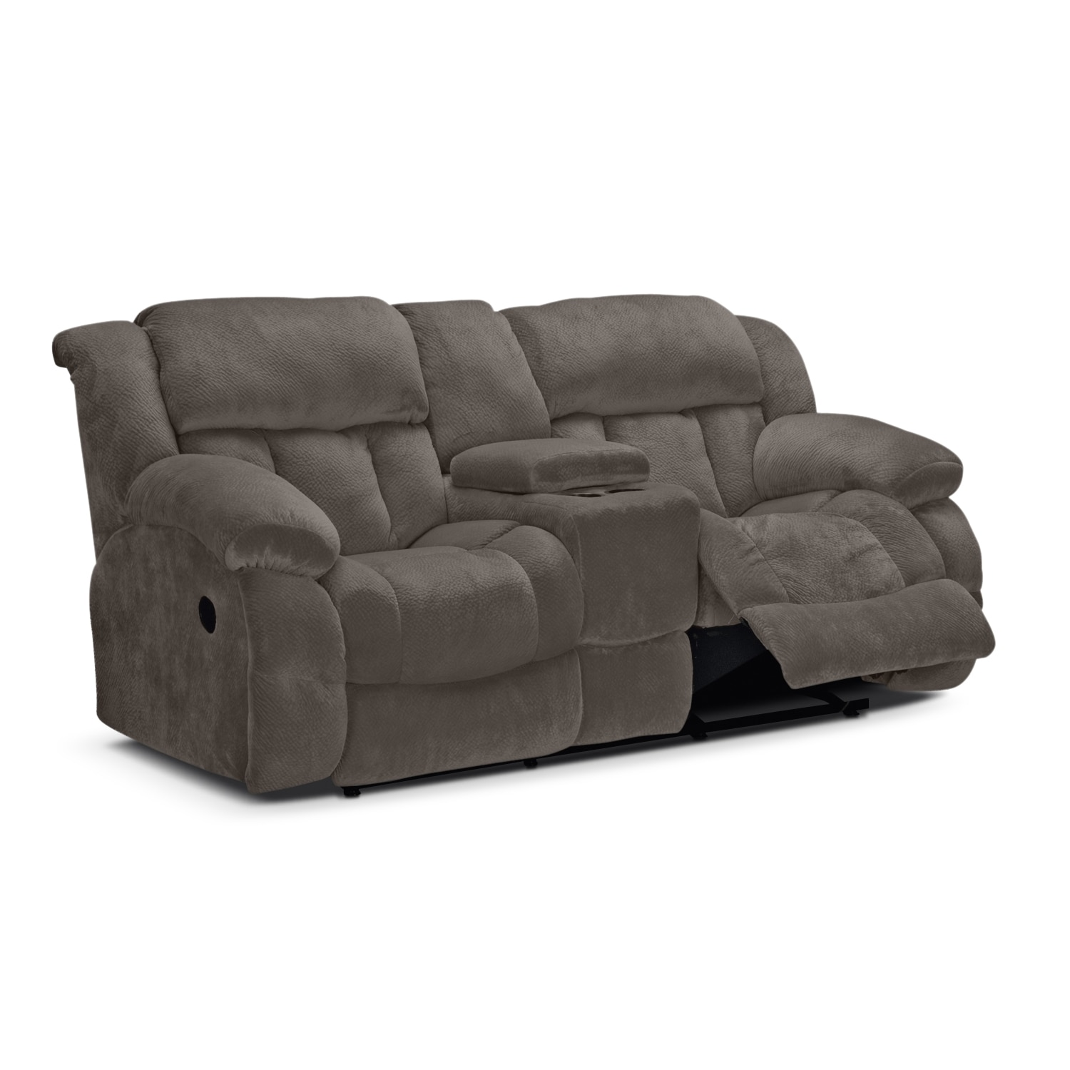 Click to change image.  sc 1 st  Value City Furniture & Park City Dual Reclining Loveseat - Gray | Value City Furniture islam-shia.org
