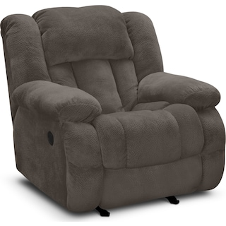Park City Glider Recliner - Gray