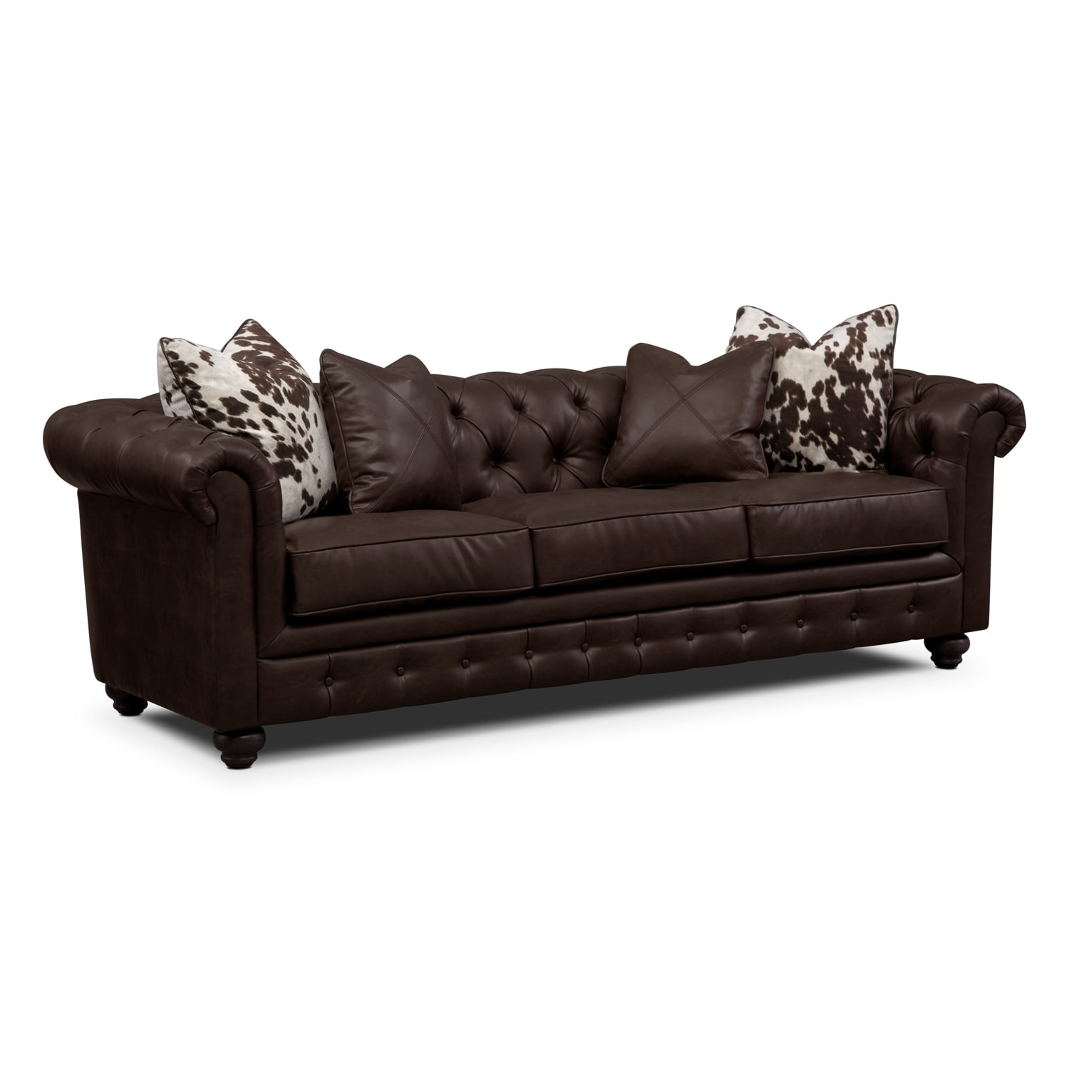 Madeline Chocolate Sofa