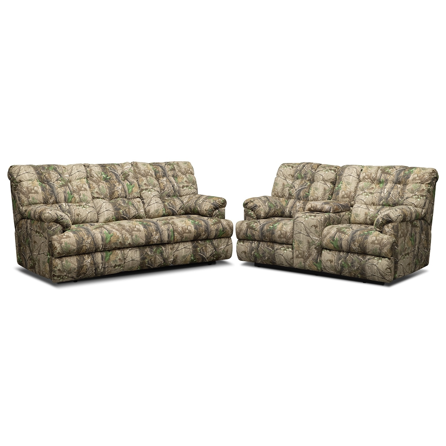 Living Room Furniture - Jasper Bay 2 Pc. Reclining Living Room