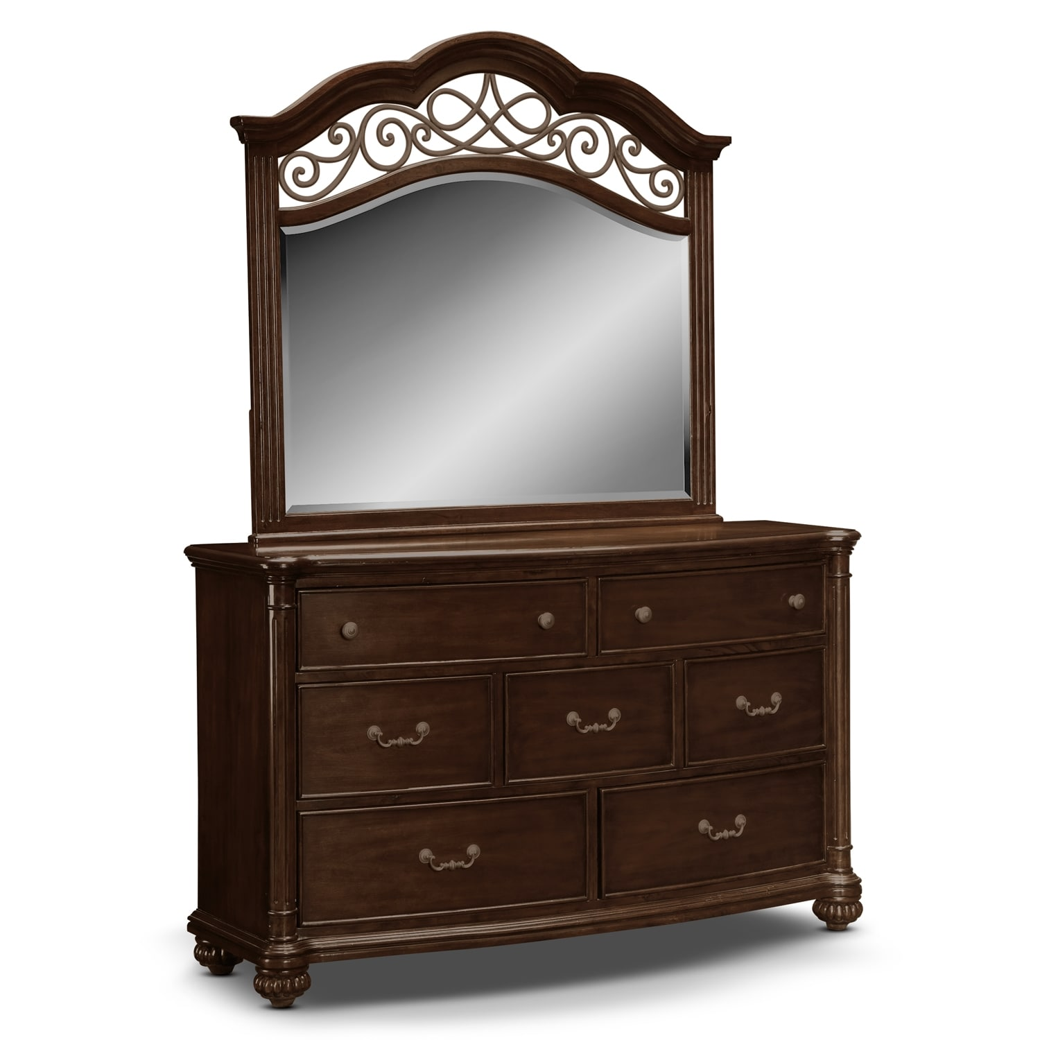 Bedroom Furniture - Derbyshire Dresser & Mirror