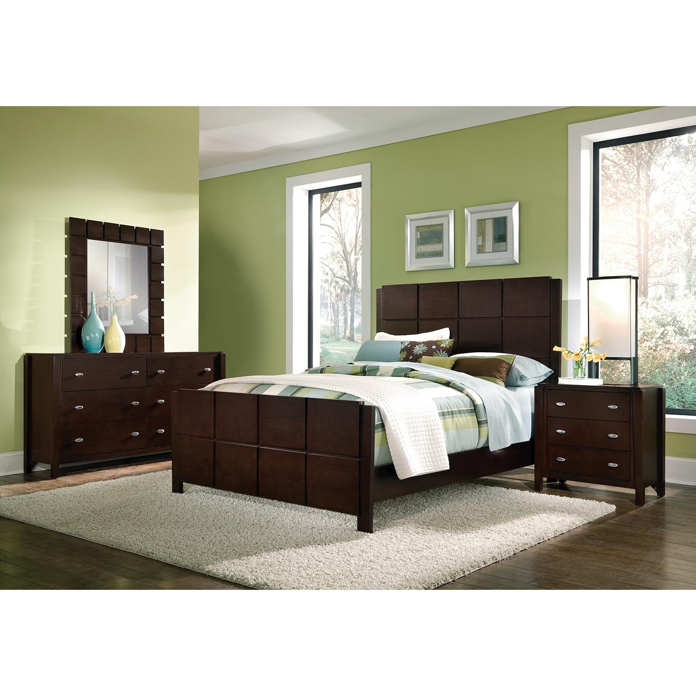 Bedroom Furniture - Mosaic 6 Pc. Queen Bedroom