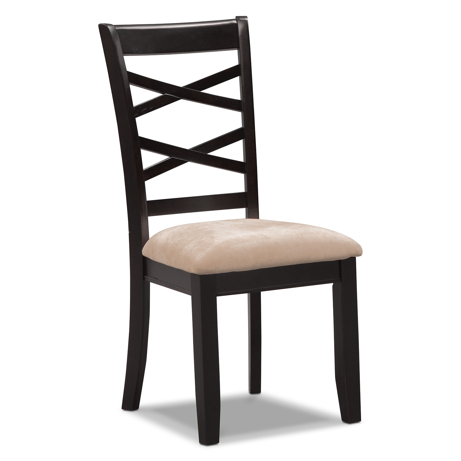 Americana Espresso Side Chair