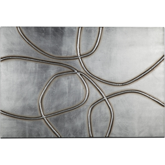 Home Accessories - Silver Rocks Canvas Print