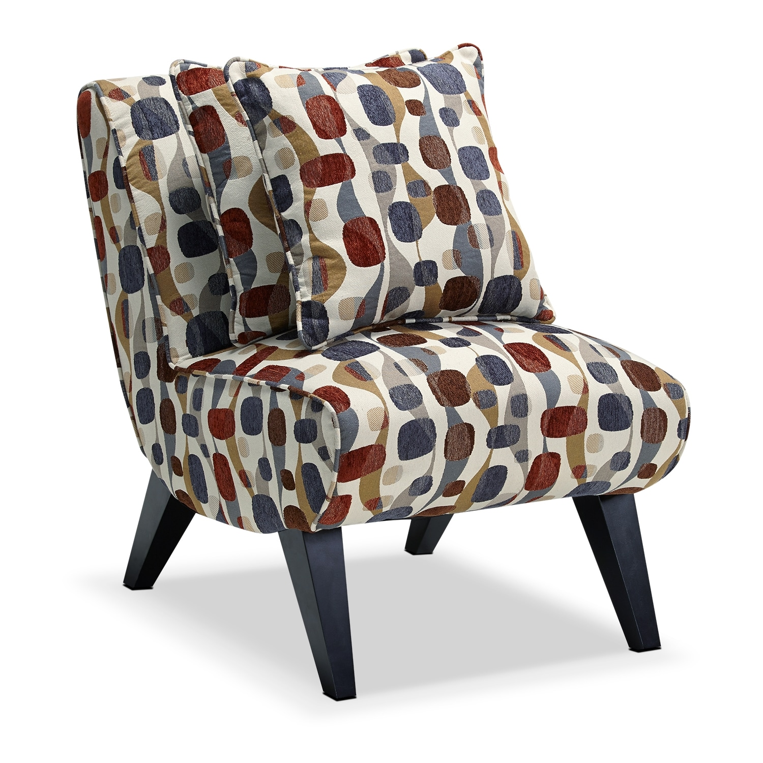Adrian Accent Chair Geometric