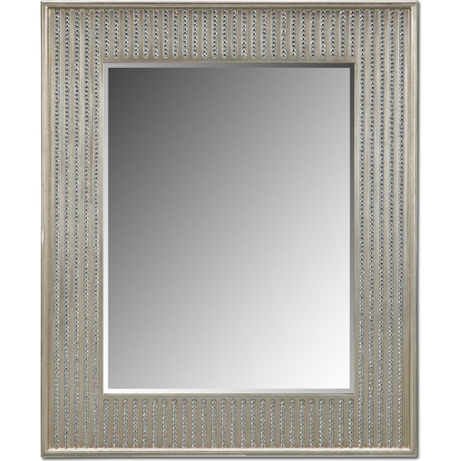 Home Accessories - Bling Glam Wall Mirror - Champagne