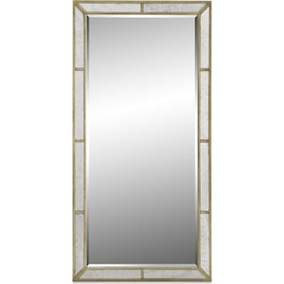 Angelina Floor Mirror - Metallic