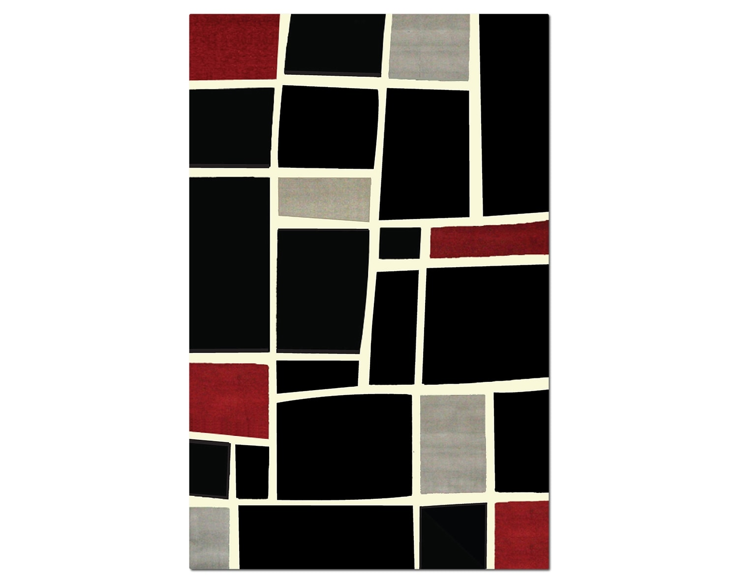 The Terra Squares Collection - Black and Gray