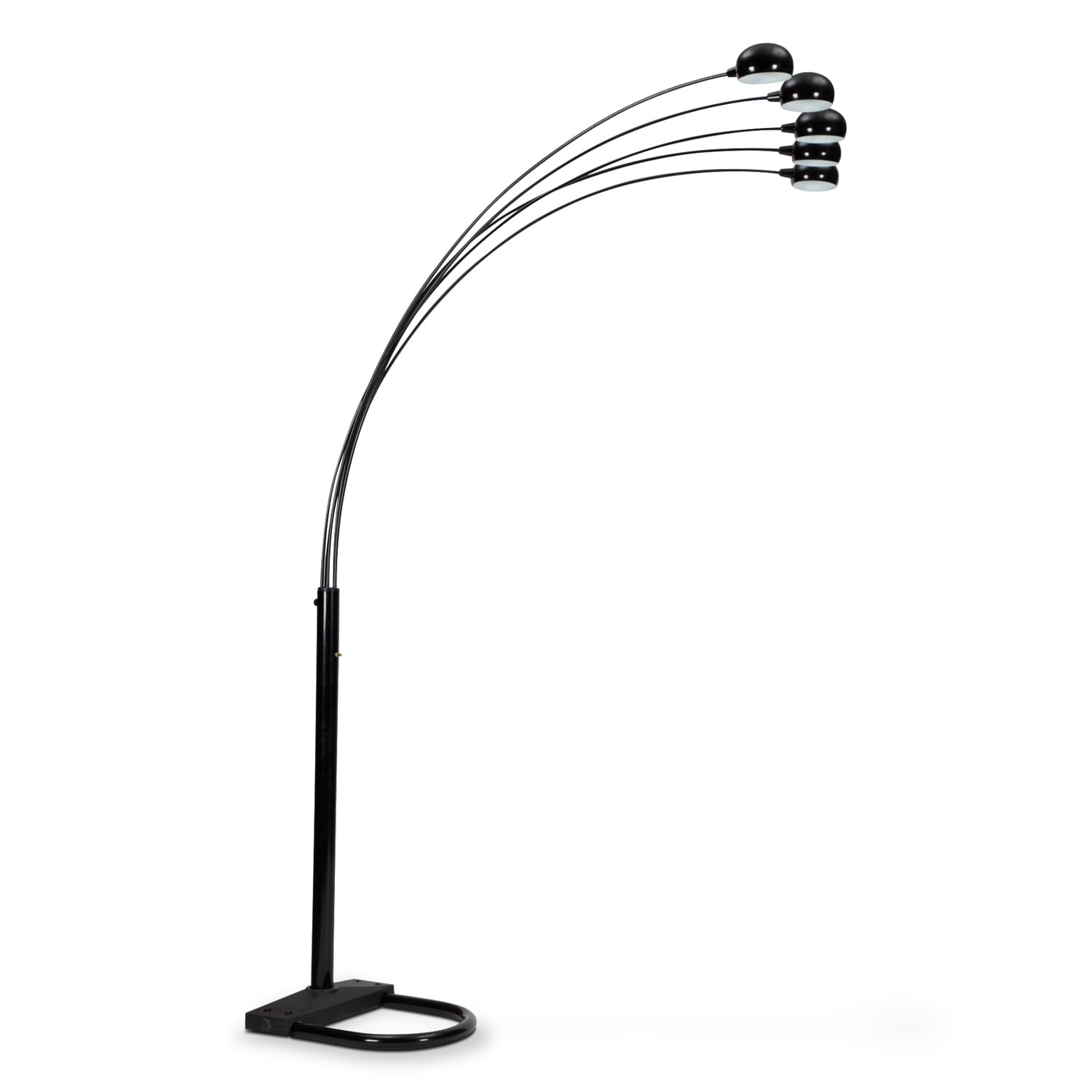 Home Accessories - Black Arc Floor Lamp