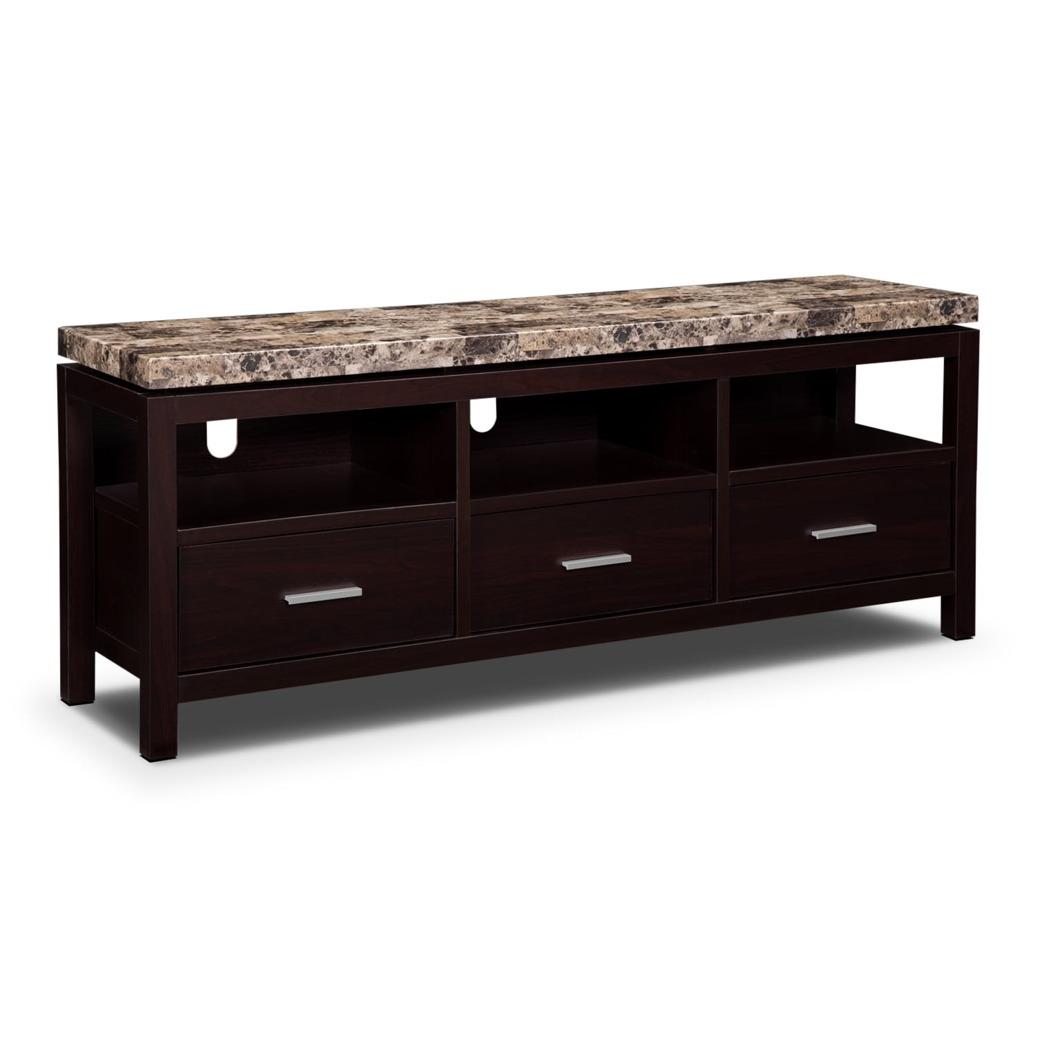 Audra Tv Stand Merlot Value City Furniture