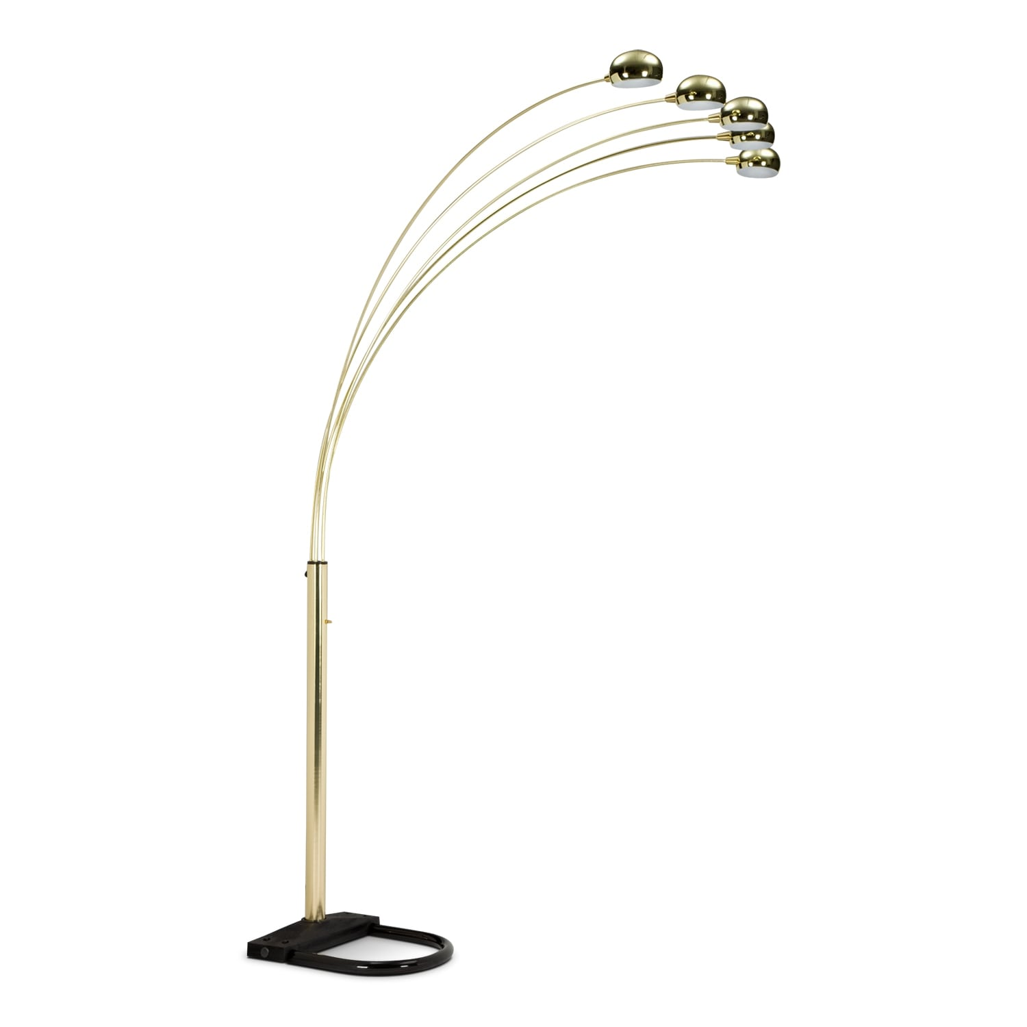 Home Accessories - Brass Arc Floor Lamp