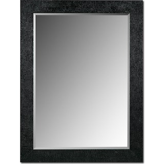 Croc Mirror - Black