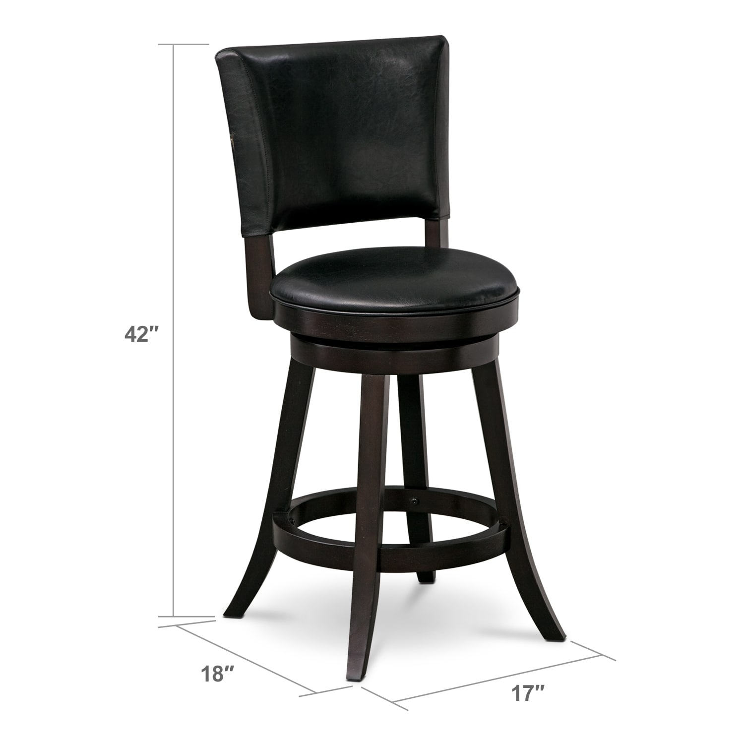 Dining Room Furniture - Easton Counter-Height Stool