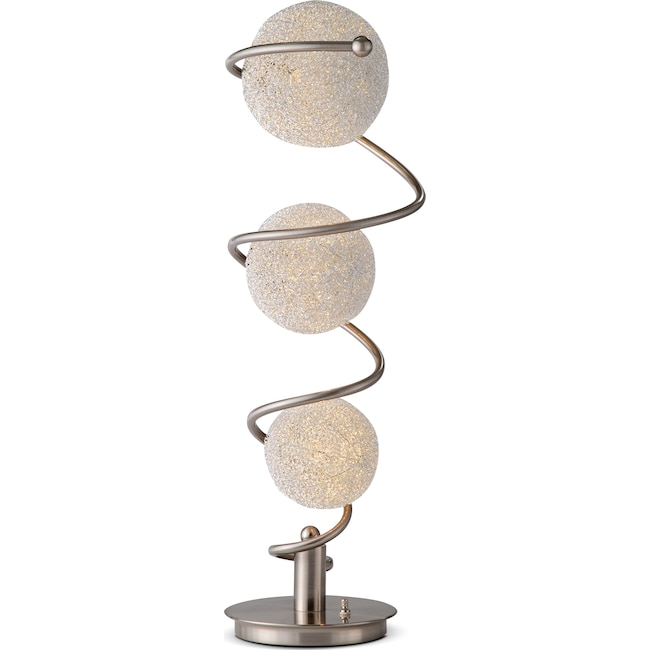 Home Accessories - Metal Saturn Table Lamp