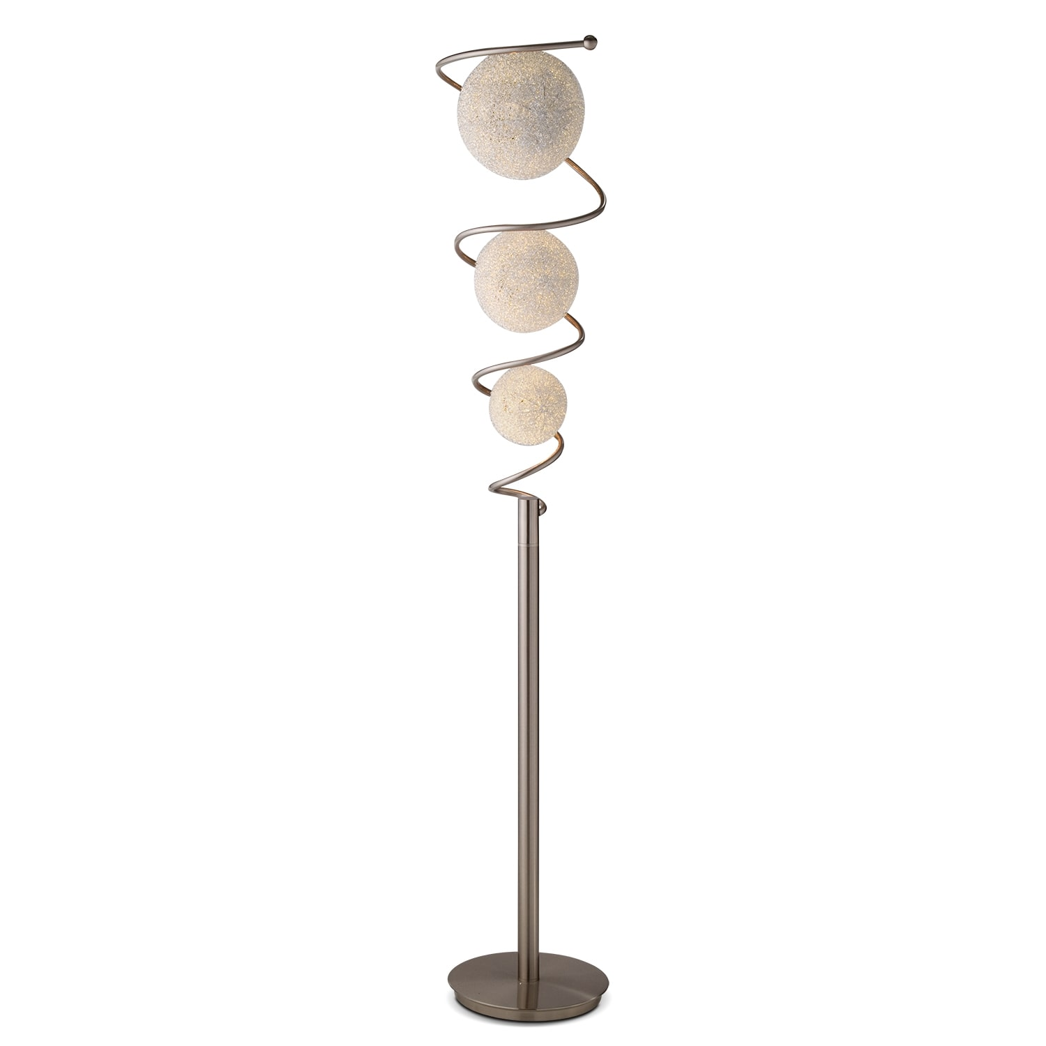 Metal Saturn Floor Lamp