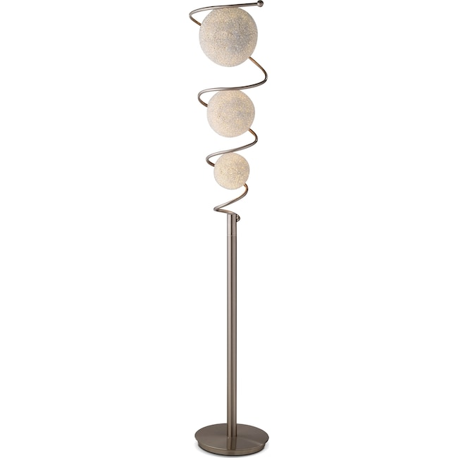 Home Accessories - Metal Saturn Floor Lamp