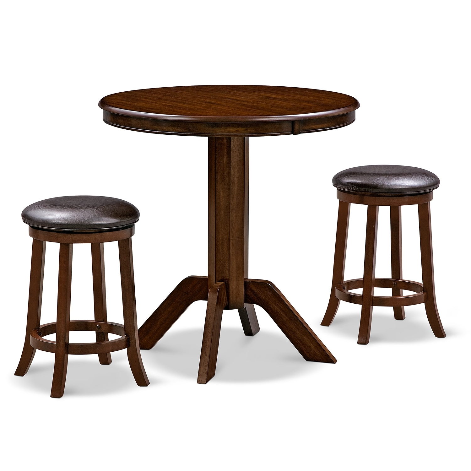 Dining Room Furniture - Concord Tinker 3 Pc. Counter-Height Dinette